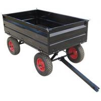 Cheap Tow behind Garden Utility Trailer 17cubic 4WCART wholesale