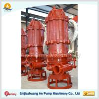 """Cheap 12"""" Horizontal Submersible slurry pump with cutter wholesale"""