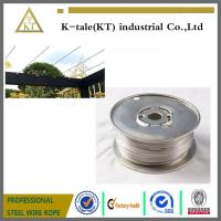 Cheap Cable Railing for Pergola /stainless steel wire rope for pergolas and plant training wholesale