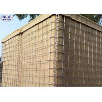 Buy cheap 5mm Sand Filled Wall Galfan Coated Defensive Barrier CE Certification from wholesalers