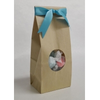 Cheap Food bag with window and beautiful printing wholesale