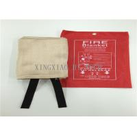 Cheap Flame Resistant Emergency Fire Blanket Moisture Proof Satin / Plain / Twill Weaving wholesale