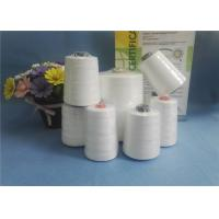 Cheap Eco - Friendly Raw White 100% Spun Polyester Yarn 10S/2 10S/ For Bag Closing wholesale