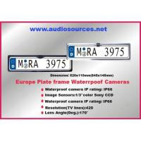 Cheap Europe plate frame waterproof camera system wholesale