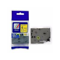Cheap Brother P - Touch White On Black Label Tape TZ - 611 9mm 12mm Colors Refill wholesale