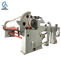 Cheap Paper Mill High Speed Horizontal Pneumatic Reeling Machine for toilet paper machine wholesale