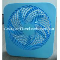 Cheap Blue Desktop ABS 2 Speed Square Electric Fan 110V / 220V 50Hz / 60Hz wholesale