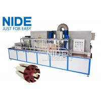 Cheap Servo epoxy powder coating machine With the touch screen for armature rotor wholesale
