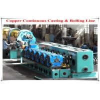 Cheap Oval Circular Holes Φ250 Cold Rolling Mill , Copper Rod Two Roll Mill wholesale