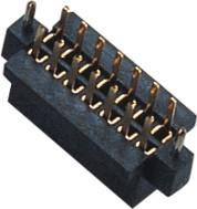 1.27 mm Female Header Double Row S/T W/T ﹣40℃ to +105℃ Operation Temperature
