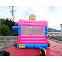 Cheap Ice Cream Truck Commercial Bounce House 0.55mm PVC Inflatable Bouncer wholesale