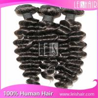 Latest coming indian naturally curly weave hair