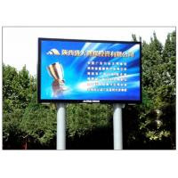Cheap Aluminum Alloy / Steel Giant Advertising LED Screen Media Outdoor DIP P10 wholesale