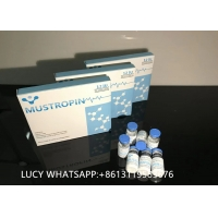 Cheap 120IU Medical MUSTROPIN HGH Somatropin 3.7mg/ vial For Muscle Building wholesale