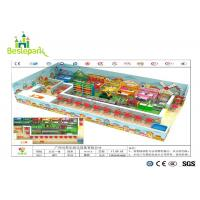 Cheap Children / Toddlers Indoor Soft Playground Anti - Static 1680 * 1000 * 350cm wholesale