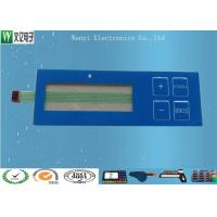 Buy cheap Glossy Overlay & Blue Window Embossing Membrane Switch With Luxing Backadhesive from wholesalers