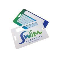 Cheap Personalized Hard Plastic PVC Luggage Tag Matte Surface Customize Size And Shape wholesale