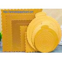 Cheap Food Grade Cake Board With Aluminium Foil For Food Packaging wholesale