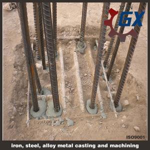 Cheap line type helical pile & Bolt screw pile wholesale