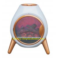 Portable Free Standing Electric Fireplace Stove With 2 Setting Heater