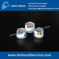 Cheap 200ml thin wall IML food cups mould exporter,thin walls plastic container lids mould wholesale