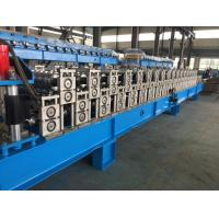 Cheap Corrugated Sheet Roll Forming Machine , Metal Roofing Forming Machine By Chain wholesale