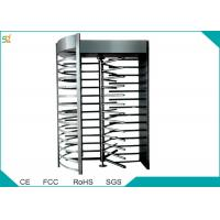 Full Height Automatic Turnstiles 120 Degree Single Channel High Security Barrier