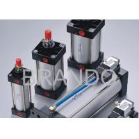 Cheap Pneumatic Cylinder Valve , Pneumatic Air Cylinder Assembled ISO6431 ISO15552 Standard wholesale