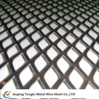Cheap Expanded Metal Grid Flattened Expanded Mesh Customized Size by Stainless Steel or Aluminum wholesale