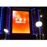 Cheap Advertising Full Color LED Signs,Led TV Display Pitch 6mm IP43 wholesale