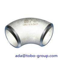 Cheap Stainless Steel Elbow Pipe ASTM A182 F51 / UNS31803 / 1.4462 DN 15-1500 wholesale