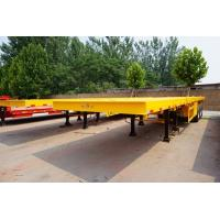 Buy cheap 3 axle 40ft extendable flatbed truck semi trailer - CIMC VEHICLE from wholesalers