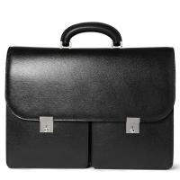 Cheap 15 Inches Laptop / Document Leather Laptop Bag , Mens Leather Briefcase Bag wholesale