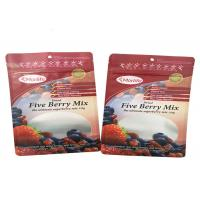 Cheap Frozen Food Grade Three Side Seal Pouch Nylon Plastic Packaging Bag Easy Tear wholesale