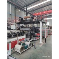 China Vinyl Flooring Double Screw 245KW SPC Flooring Production Line on sale