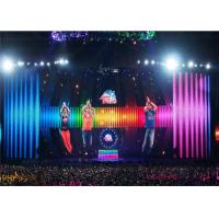 Cheap P1.6 Indoor HD LED Video Walls , SMD1010 Large Screen Display Solutions with 14bit Gray Grade wholesale