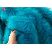 Cheap Knitted Faux Fur Craft Fabric Squares Turquoise Fur Light Blue 58-60 Inch wholesale