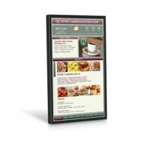 Cheap 49 Inch Video Wall Mount LCD Display Plug In Play 178° Viewing Angle Kiosk Touch Screen wholesale