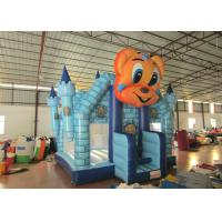 Cheap Cartoon Commercial Bounce House , Attractive Inflatable Bounce House 5 X 5m wholesale