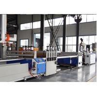 Quality Full Automatic PVC WPC Board Production Line For Wood Plastic WPC Building Template for sale