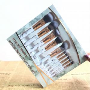 Cheap Marble Makeup brush Set, Marble Makeup Brush Collection Set, Professional Cosmetic Brush Set wholesale