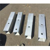 Cheap Gauge Perforated Square Tube Steel Fence Posts Q235 Material ASTM A1011 Grade 50 wholesale