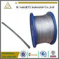 Cheap Galvanized Steel Wire Rope for Control Cable wholesale
