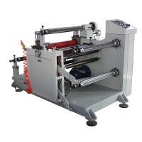 Buy cheap magnetic powder clutch control slitting equipment paper slitting machine 650mm from wholesalers