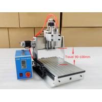 Table Top Spindle Milling Machine Z Axis CNC Router 3020 With 3 Axis