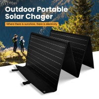 Quality 120W 21.7% 18V Mono Crystalline Solar Panel Portable Waterproof for sale