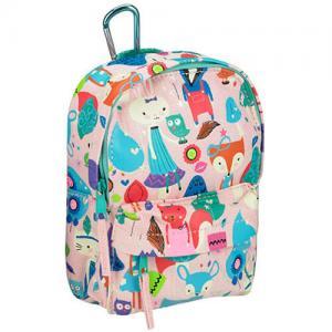 Cheap Flower Printed Custom Logo Backpacks Womens Travel Rucksack For Storage wholesale