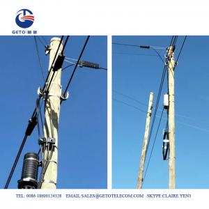 Cheap Aerial Fiber 15mm 12KN J Hook ADSS Suspension Clamp wholesale