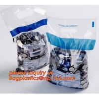 Cheap Plastic Mailing Bags Tamper Evident Security Bank Deposit Proof Security wholesale