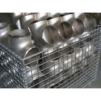 Cheap butt weld carbon steel pipe tee wholesale